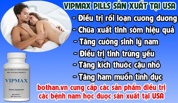 Thuốc điều trị xuất tinh sớm VIPMAX gói 2 tháng